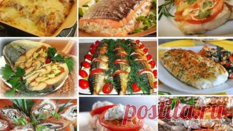 25 рецептов из рыбы: замечательная подборка