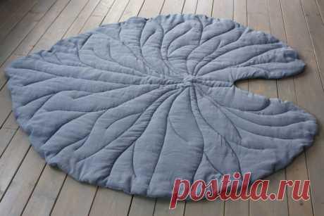 Como coser la manta el tapiz pequeño listik \/ los patrones Simples \/ la SEGUNDA CALLE