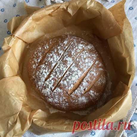 Ржано-пшеничный хлеб. Рецепт для ленивых | Анна Нечаева | Яндекс Дзен