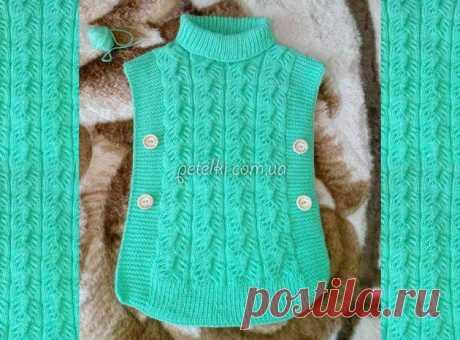 Пуловеры, свитера, кардиганы, пальто и другие теплые вязаные вещи дл девочек