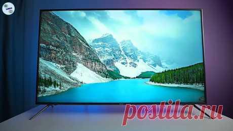 Недорогой телевизор с богатым набором фишек, которые редко встретишь в бюджетном сегменте | ТехОбзор | Яндекс Дзен