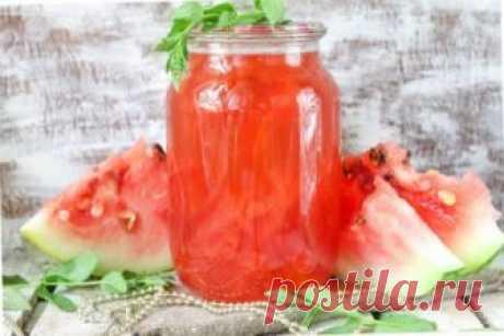 Как закрыть компот из арбуза на зиму: 4 рецепта в домашних условиях - Onwomen.ru