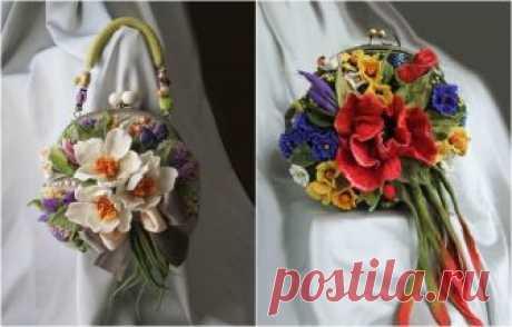 20 великолепных цветочных сумок ручной работы от мастера Ольги Гуляевой Женщины любят цветы и сумочки. Кому лучше знать это, как не самой женщине.  Мастер Ольга Гуляева не просто знает, что это так, но и придумала, как сделать так, чтобы у женщины в руках всегда было и то…