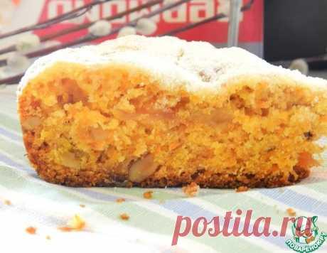 Постный морковный пирог с яблоками – кулинарный рецепт