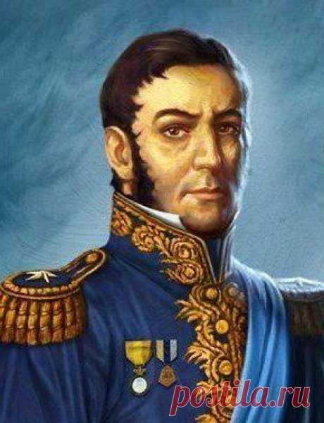 Хосе де Сан Мартин: революционер и масон. Краткая биография.
