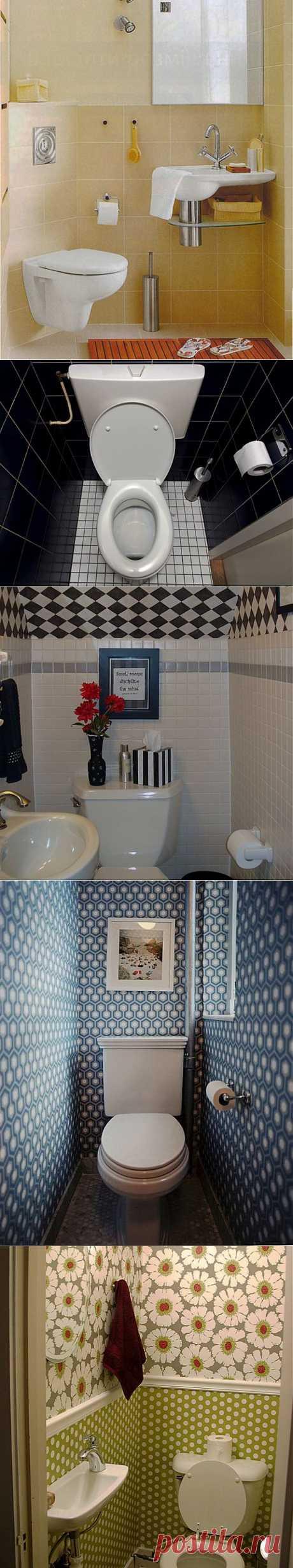 (+1) тема - Туалет тоже может быть красивым! :) | Школа Ремонта