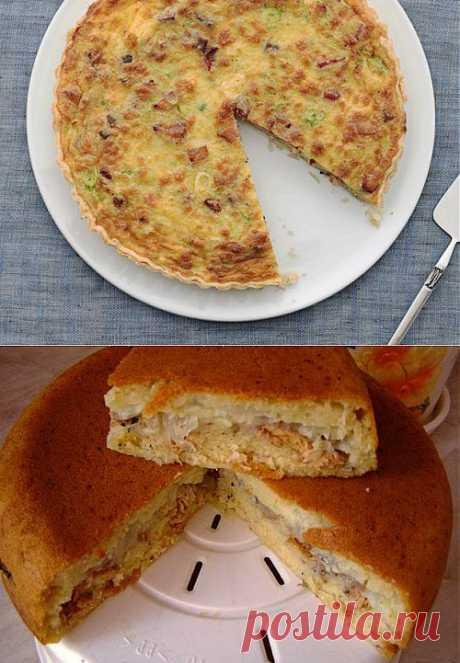 Несладкие пироги в мультиварке: 6 рецептов / Простые рецепты