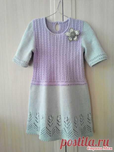 Платье для любимой внучки. - Вязание для детей - Страна Мам