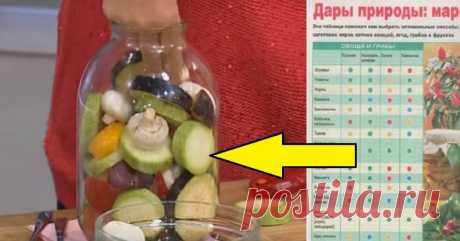 Как закрывать овощи на зиму - Копилка идей