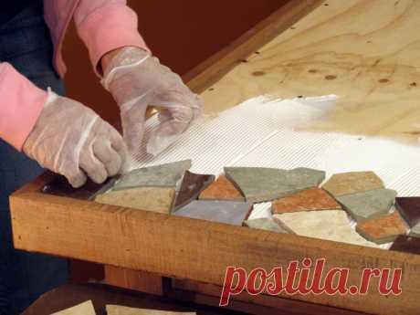 Столешница своими руками: фото-идеи изготовления оригинальных предметов интерьера