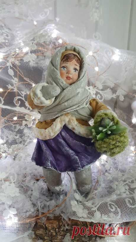 Ватные игрушки от Анжелики Мартыновой