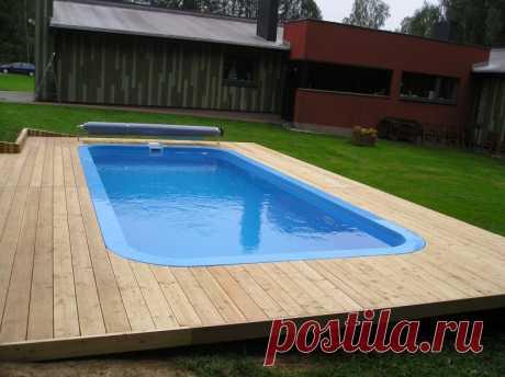 Как самостоятельно сделать бассейн из полипропилена | Азбука огородника | Пульс Mail.ru Полипропилен очень удобен в использовании и хорошо подходит для сооружения каких-либо крупных построек.
