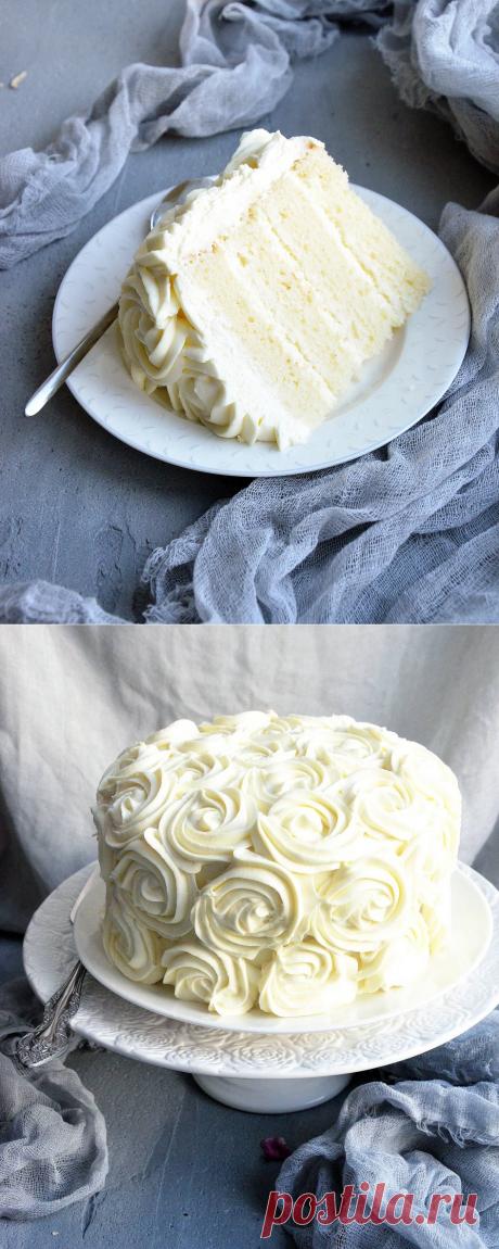 Ванильный торт   HomeBaked