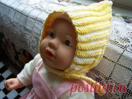 "Детская шапочка ""Эльф""/Baby's Hat ""Elf"" :: Crochet and Knitting"