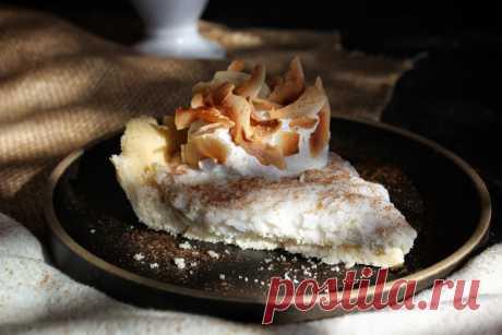 Кето рецепт пирога с кокосовым кремом без яиц (БЖУ подсчитан)