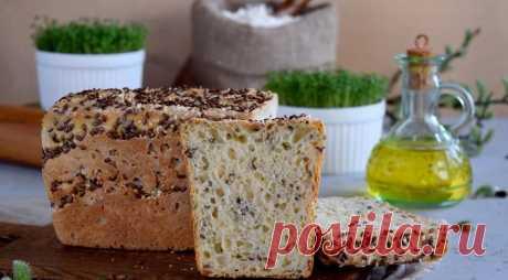 Хлеб Шведский ночной без замеса, пошаговый рецепт с фото
