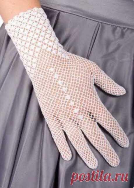 Вязаные перчатки. Для вдохновения