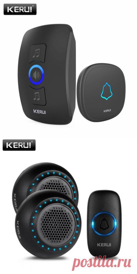 KERUI M525 Главная Безопасность Добро пожаловать Беспроводной дверной звонок