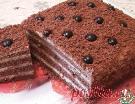 """Торт """"Капучино"""" – кулинарный рецепт"""
