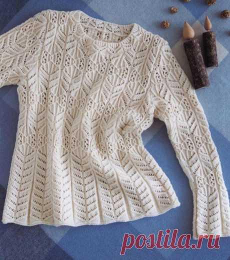 Подборка интересных моделей пуловеров спицами.🌺 | Asha. Вязание и дизайн.🌶 | Яндекс Дзен
