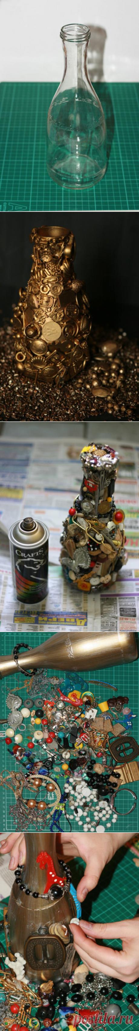 «Магнит времени» или как красиво избавиться от накопившейся мелочёвки — Сделай сам, идеи для творчества - DIY Ideas