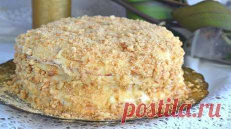Торт, который готовится без духовки - Очень вкусно