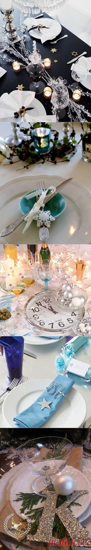 Красивые и яркие идеи декора новогоднего стола