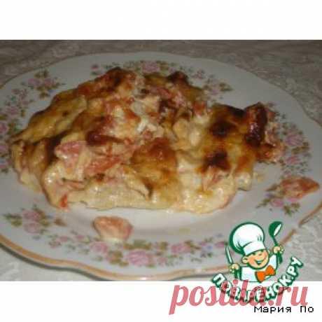 """Рыба """"По-гречески"""" - кулинарный рецепт"""