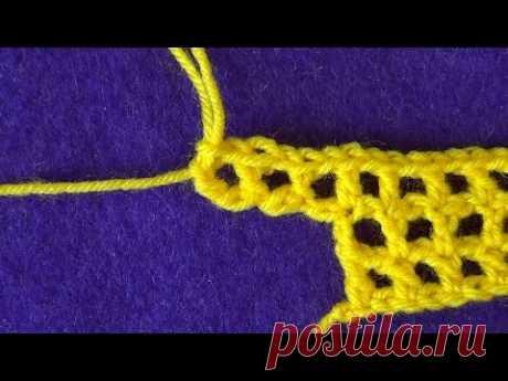 Вязание начального ряда в вязании