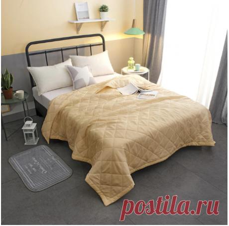 2020 Новое однотонное покрывало розового и белого цвета, летнее одеяло, одеяло, покрывало для кровати, стеганый домашний текстиль, подходит для детей и взрослых Одеяла    АлиЭкспресс