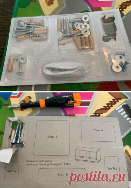 Для сборки мебели идея
