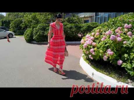 Платье КРАСНАЯ ШАПОЧКА - с капюшоном макси в пол, обзор