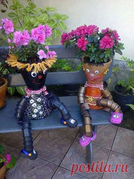 Painted Clay Pot Critters How To Make Planters Tutorial