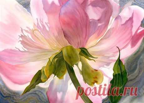 Цветы в исполнении Marney Ward