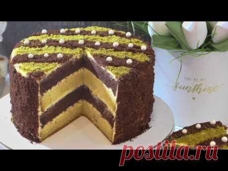 Торт СМЕТАННИК  пошаговый рецепт. sour cream cake.