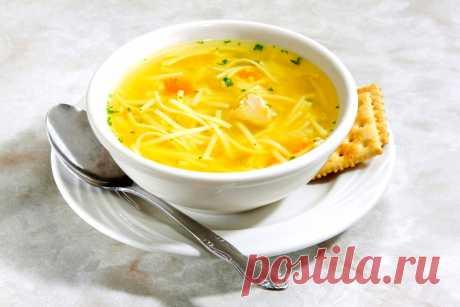 Суп из курицы. Лучший суп с курицей