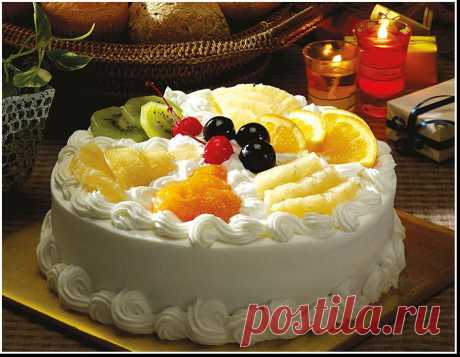 Крема для украшения торта.