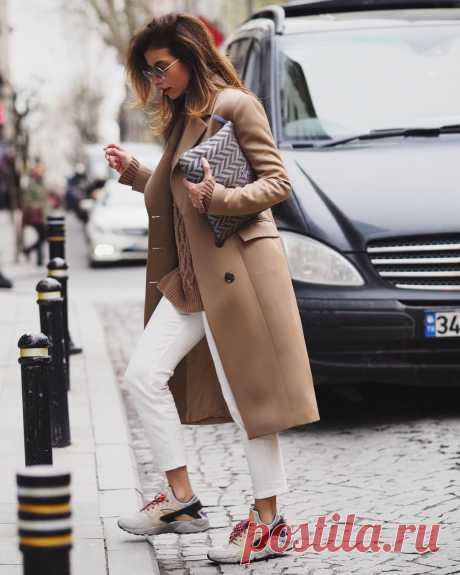 Модный образ без каблуков: 13 великолепных весенних вариантов - zhurnal-lady.com
