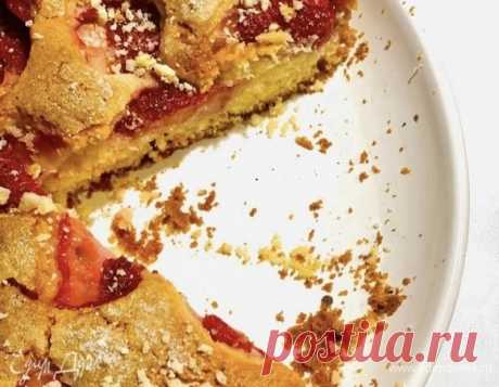Клубничный кекс, пошаговый рецепт на 2731 ккал, фото, ингредиенты - Елена