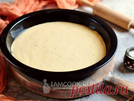 Жидкое тесто на майонезе Универсальное жидкое тесто, которое отлично подойдет для любого несладкого пирога или пиццы.