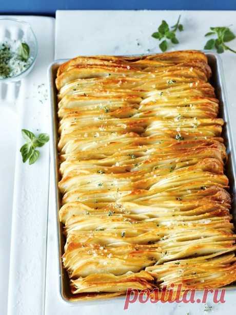 Готовим хрустящий листовой картофель / Как чипсы, только полезнее и вкуснее | Другая Кухня /Дневник фудблогера | Яндекс Дзен