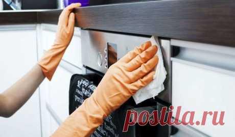 Пять быстрых способов очистить кухонные шкафчики от жирного налета — Мир интересного
