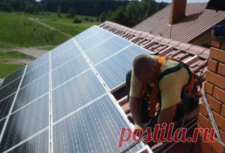 Жители частных домов смогут сами обеспечить себя электричеством Владельцам частных домов разрешат устанавливать солнечные панели и ветряки мощностью до 15 кВт. Госдума в целях развития отечественной ...