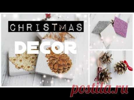 Новогодние игрушки своими руками * Елочные игрушки/ DIY Christmas Ornaments* Bubenitta