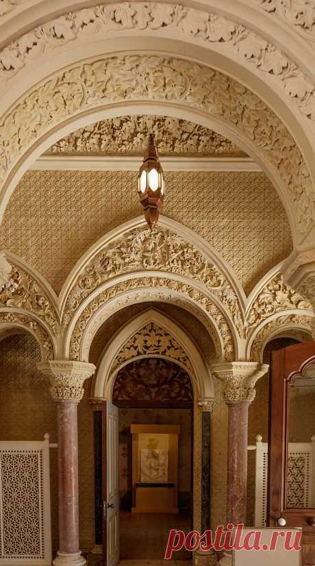 Дворец Монсеррат (Palcio de Monserrate)-дворцово-парковый ансамбль в Синтре
