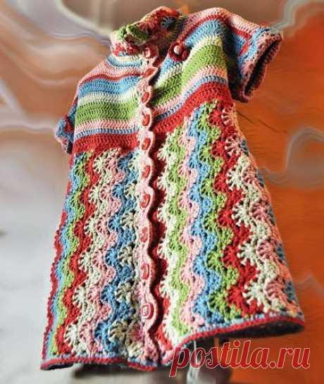 Blusa de Croche com grafico para impressão - Criativo Ok