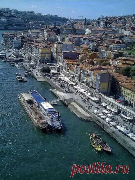 Cidade do Porto zona da Ribeira
