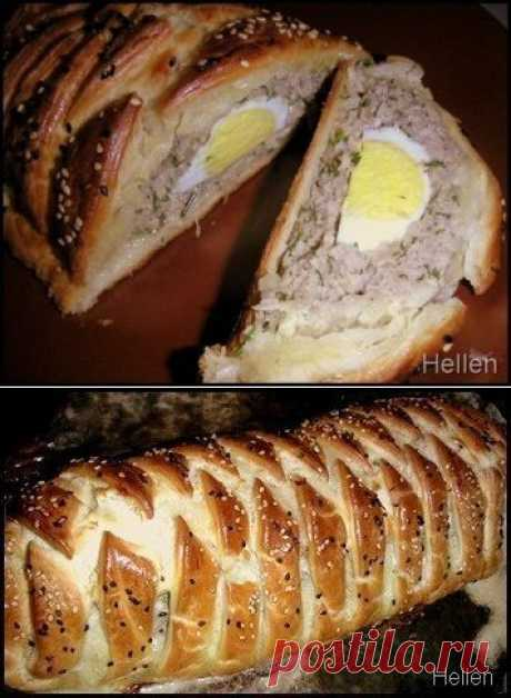 Как приготовить мясной рулет с яйцом - рецепт, ингридиенты и фотографии