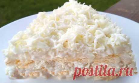 """Восхитительный салат """"Афродита   Самые вкусные кулинарные рецепты"""