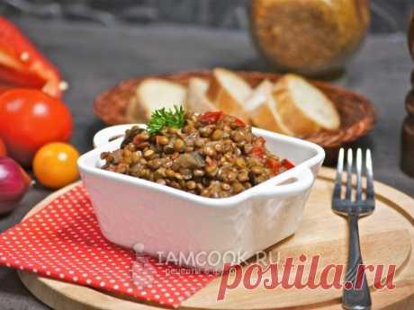 Чечевица с овощами в мультиварке — рецепт с фото Вкусный, полезный гарнир из чечевицы и овощей для всей семьи.